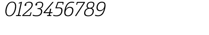 Cabrito Condensed Book Italic Font OTHER CHARS