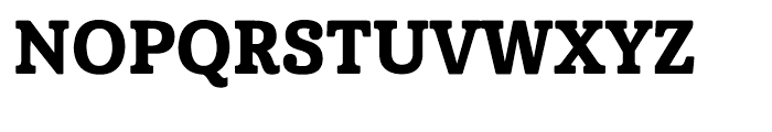 Cabrito Condensed Extra Bold Font UPPERCASE