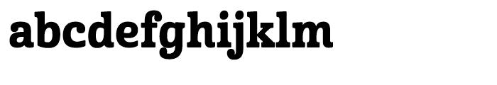 Cabrito Condensed Extra Bold Font LOWERCASE