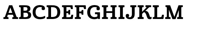 Cabrito Normal Bold Font UPPERCASE