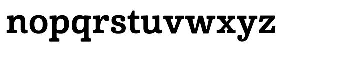 Cabrito Normal Bold Font LOWERCASE
