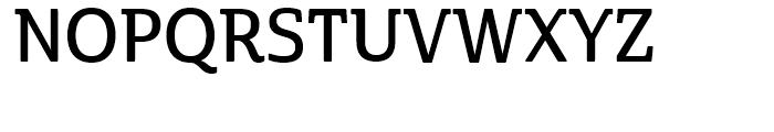 Cabrito Semi Cond Demi Font UPPERCASE