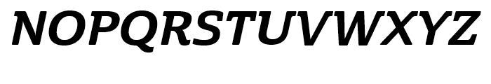 Cabrito Semi Cond ExtraBold Italic Font UPPERCASE