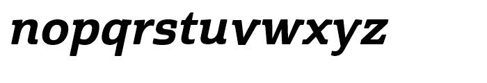 Cabrito Semi Cond ExtraBold Italic Font LOWERCASE
