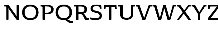 Cabrito Semi Ext Demi Font UPPERCASE