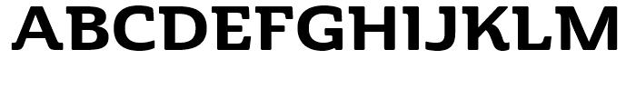 Cabrito Semi Ext ExtraBold Font UPPERCASE
