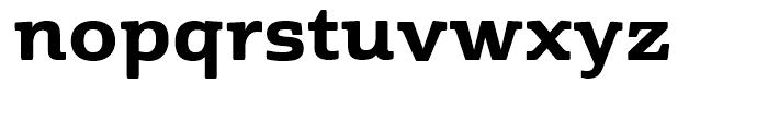 Cabrito Semi Ext ExtraBold Font LOWERCASE