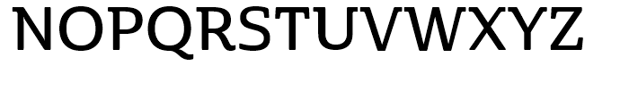 Cabrito Semi Norm Demi Font UPPERCASE