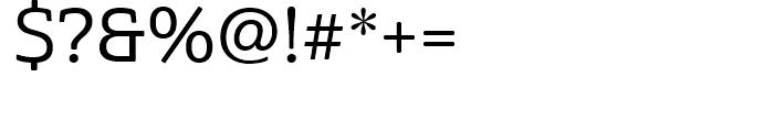 Cabrito Semi Norm Medium Font OTHER CHARS
