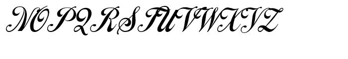 Cafe Aroma Regular Font UPPERCASE