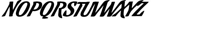 Cafelatte Regular Font UPPERCASE