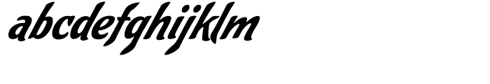 Cafelatte Regular Font LOWERCASE