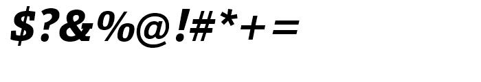 Calanda ExtraBold Italic Font OTHER CHARS