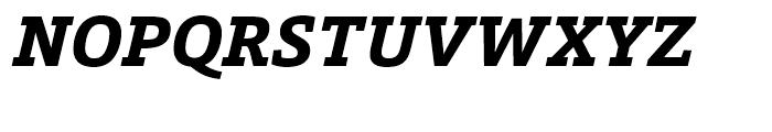 Calanda ExtraBold Italic Font UPPERCASE
