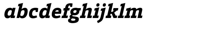 Calanda ExtraBold Italic Font LOWERCASE