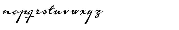 Calendary Hands Regular Font LOWERCASE