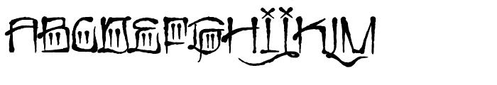 Cali Cholo Font UPPERCASE