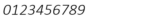 Calibri Light Italic Font OTHER CHARS
