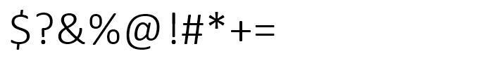 Calibri Light Font OTHER CHARS