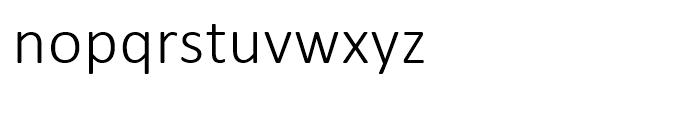 Calibri Light Font LOWERCASE