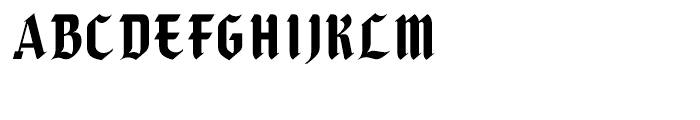 Caligra Regular Font UPPERCASE