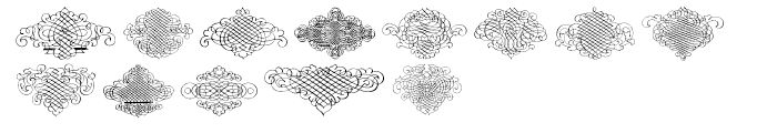 Calligraphia Latina Regular 3 Font UPPERCASE