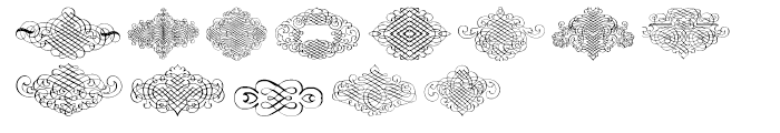 Calligraphia Latina Regular 3 Font LOWERCASE