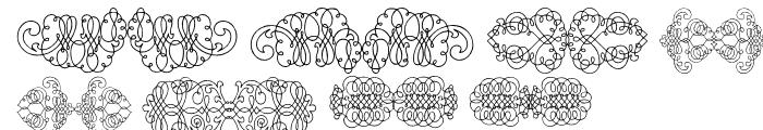 Calligraphia Latina Soft 2 Font OTHER CHARS