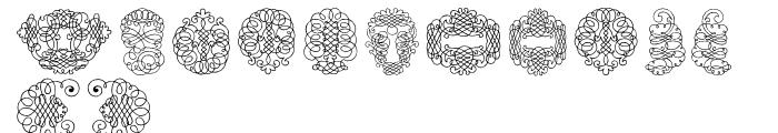 Calligraphia Latina Soft 2 Font UPPERCASE