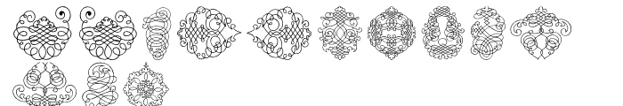 Calligraphia Latina Soft 2 Font LOWERCASE