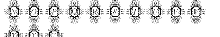 Calligraphia Latina Soft3 Font UPPERCASE