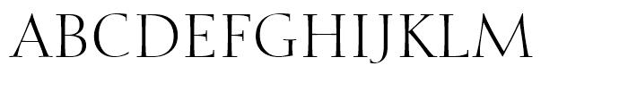 Calligraphic 810 Roman Font UPPERCASE