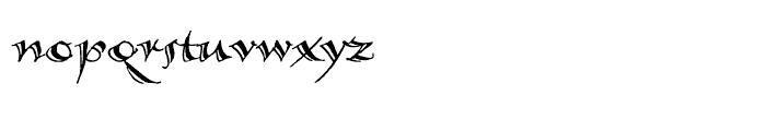 Calligraphica Regular LX Font LOWERCASE