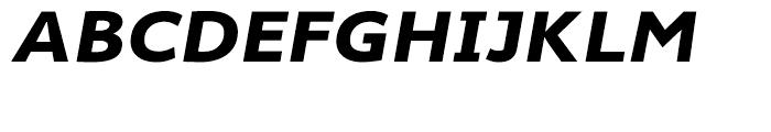 Cambridge Bold Expanded Italic Font UPPERCASE