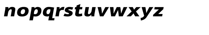 Cambridge Bold Expanded Italic Font LOWERCASE