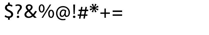 Cambridge Regular Font OTHER CHARS