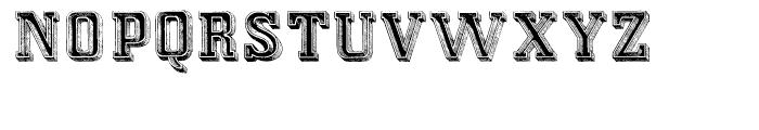 Campi Regular Font UPPERCASE