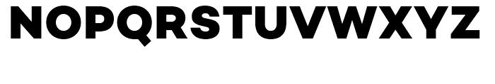 Campton Extra Bold Font UPPERCASE