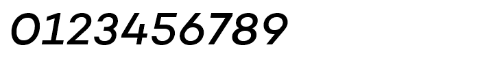 Campton Medium Italic Font OTHER CHARS