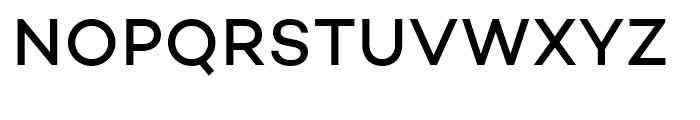 Campton Medium Font UPPERCASE