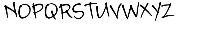 Camy Black Narrow Font UPPERCASE