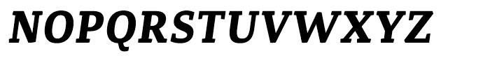 Canberra FY Bold Italic Font UPPERCASE