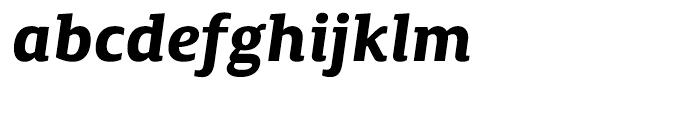 Canberra FY Bold Italic Font LOWERCASE