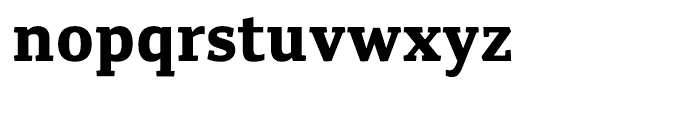 Canberra FY Bold Font LOWERCASE