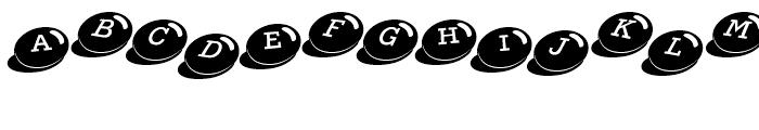 Candy Bits Regular Font UPPERCASE
