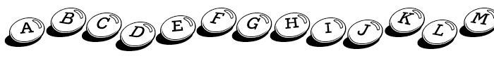 Candy Bits Regular Font LOWERCASE