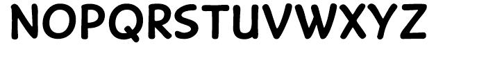 Caper Comic Bold Font LOWERCASE
