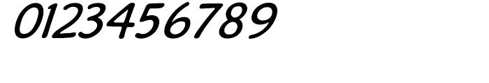 Caper Comic Italic Font OTHER CHARS