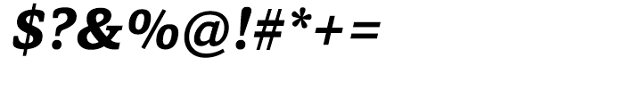 Capita Bold Italic Font OTHER CHARS