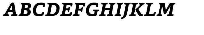 Capita Bold Italic Font UPPERCASE